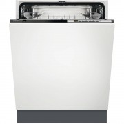 Zanussi ZDT26030FA Built In Fully Integrated Dishwasher - Black