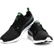 Puma Carson Runner Glitch Running Shoes For Men(Black, Grey)