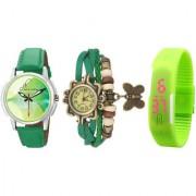 Combo of Jack Klein Stylish Round Dial Analog Wrist Watches