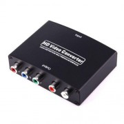 1080P HD HDMI to YPbPr Video and R/L Audio Adapter Converter (Black)