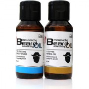 Combo Pack of Tea Tree and Coffee Herbal Beard Oil