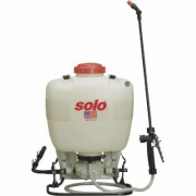 Solo Diaphragm Pump Backpack Sprayer - 4-Gallon Capacity, 60 PSI, Model 475-B