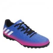 Adidas Chuteira Messi 16 4 TF Degradê - Azul Royal & Pink -