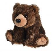 "Wild Republic Cuddlekin Grizzly Bear 12"" Plush"