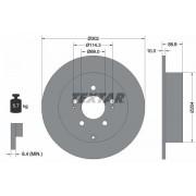TEXTAR Discos De Freno MITSUBISHI 92148403 MR955407,MR955408