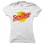 T-shirt Suntrip Med värme till värmen Dam