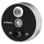 Камера за наблюдение Edimax IC-6220DC за шпионка на врата, безжична, нощно виждане, двупосочно аудио, EDIM-IC-6220DC