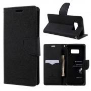 Mercury Pouzdro / kryt pro Samsung Galaxy S8 - Mercury, Fancy Diary Black/Black