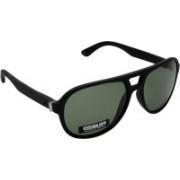 Iryz Oval Sunglasses(Green)