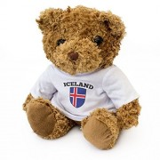 NEW - ICELAND Flag - Teddy Bear - Cute And Cuddly - Gift Present Birthday Icelandic