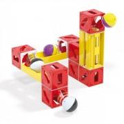 Joc de constructie cuburi pentru copii Cuboga Quercetti 28 piese