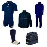 Set echipament fotbal Superbox Oceania, Bleumarin, MAXSPORT