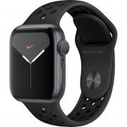 Smartwatch Apple Watch Nike Series 5 GPS 44mm Space Grey Aluminium Case Anthracite Black Nike Sport Band S/M & M/L