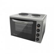 Готварска печка Eldom 203VF, 3100 W, чугунени нагревателни плочи, 38 л., инокс