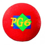 Dick Martin Sports DICK MARTIN SPORTS PLAYGROUND BALL RED 6 IN 2 PLY