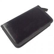 AST Works 80 CD DVD Travel Car Black Carry Case Disc Storage Holder Sleeve Wallet Bag Gift