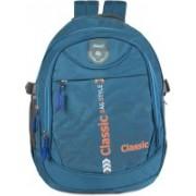 Classic Polyester Multi Pocket School Bag |Casual Bag | Shoulder Backpacks for Girls & Boys 36 L Backpack(Blue)