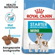 Royal Canin Mini Starter Mother & Babydog Hondenvoer - Dubbelpak 2 x 8,5 kg