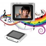 EH Portátil De 1,8 Pulgadas De Pantalla LCD De Visualización 6 ª Generación De Medios De Comunicación De Música MP4 Player - Plata Y Gris