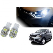 Auto Addict Car T10 5 SMD Headlight LED Bulb for Headlights Parking Light Number Plate Light Indicator Light For Mahindra Xylo
