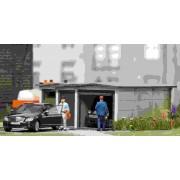 Busch garage hout 1480