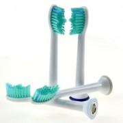 James Zhou 4-pack Phillips kompatibla tandborsthuvud till Sonicare, ProResult m.fl.
