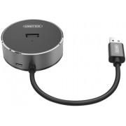 Hub USB 2.0 z audio Y-2197