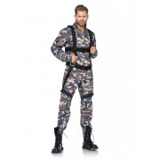 Leg Avenue Paratrooper Costume Camo 85279