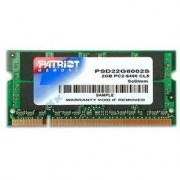 Patriot SO-DIMM 2GB DDR2 800 MHz CL6 Signature Line