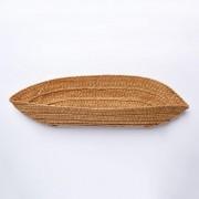 Taschenboden Strohgeflecht