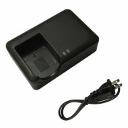 Cargador de bateria ismartdigi 10L y cable cargador para canon NB10L G1X 3X 15 16 SX40 50HS 60HS cb-2lce - negro