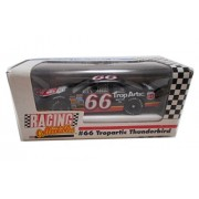 1991 Racing Collectibles Tropartic Thunderbird #66 Die Cast Race Car 1:64