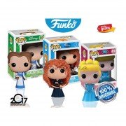 Merida Cenicienta Bella Funko Pop Pelicula Princesas Disney