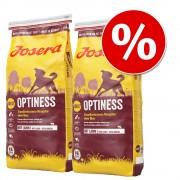 Josera храна за кучета - двойна голяма опаковка - Микс: SensiPlus + Optiness (2 x 15 кг)