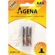 Baterije Agena R03 AAA punjive 1000mAh B2