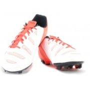 Puma evoPOWER 4.2 FG Football Shoes For Men(Orange, White)