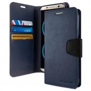 Capa Tipo Carteira Mercury Goospery Sonata Diary per Samsung Galaxy S8+ - Azul Escuro