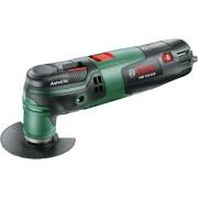 Sculă multifuncţională Bosch PMF 250 CES, 250 W, 20.000 rpm, Negru/Verde, 0603102120