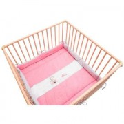 Bebes Collection Be' s Be' s Collection playpen Oskar insert rosa - rosa / pink
