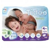 Tidoo 4+ Maxi+ 9-20 kg dětské plenky 30 ks