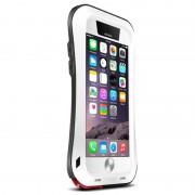 Capa Híbrida Potente Love Mei Para iPhone 6 - Branco