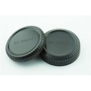 Achterdop+Bodydop (2 stuk): Fujifilm X mount camera lens