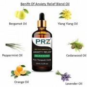 PRZ ANXIETY RELIEF BELIEVE BLEND ESSENTIAL Oil (15 Ml) Pure Therapeutic Grade