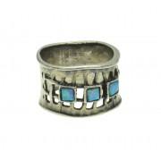 Inel argint cu opal imperial