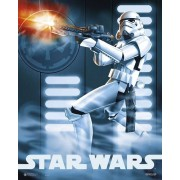 grupo erick mini poster clon star wars