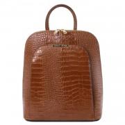 Италианска раница от естествена релефна кожа TL Bag TL141918