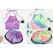 Shanghai Zhengxiang QicheZuling £9.99 instead of £29.99 (from Hey4Beauty) for a women's tie-dye co-ord - choose from two colours and four sizes and save 67%
