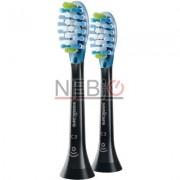 Rezerve periuta de dinti electrica Philips Sonicare Premium Plaque Control HX9042/33, 2 buc, Negru
