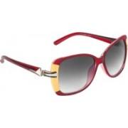 Zyaden Rectangular Sunglasses(Black)