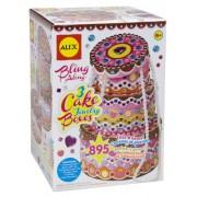 Alex Toys 178C Craft 3 Cake Jewellery Boxes, Multi Color